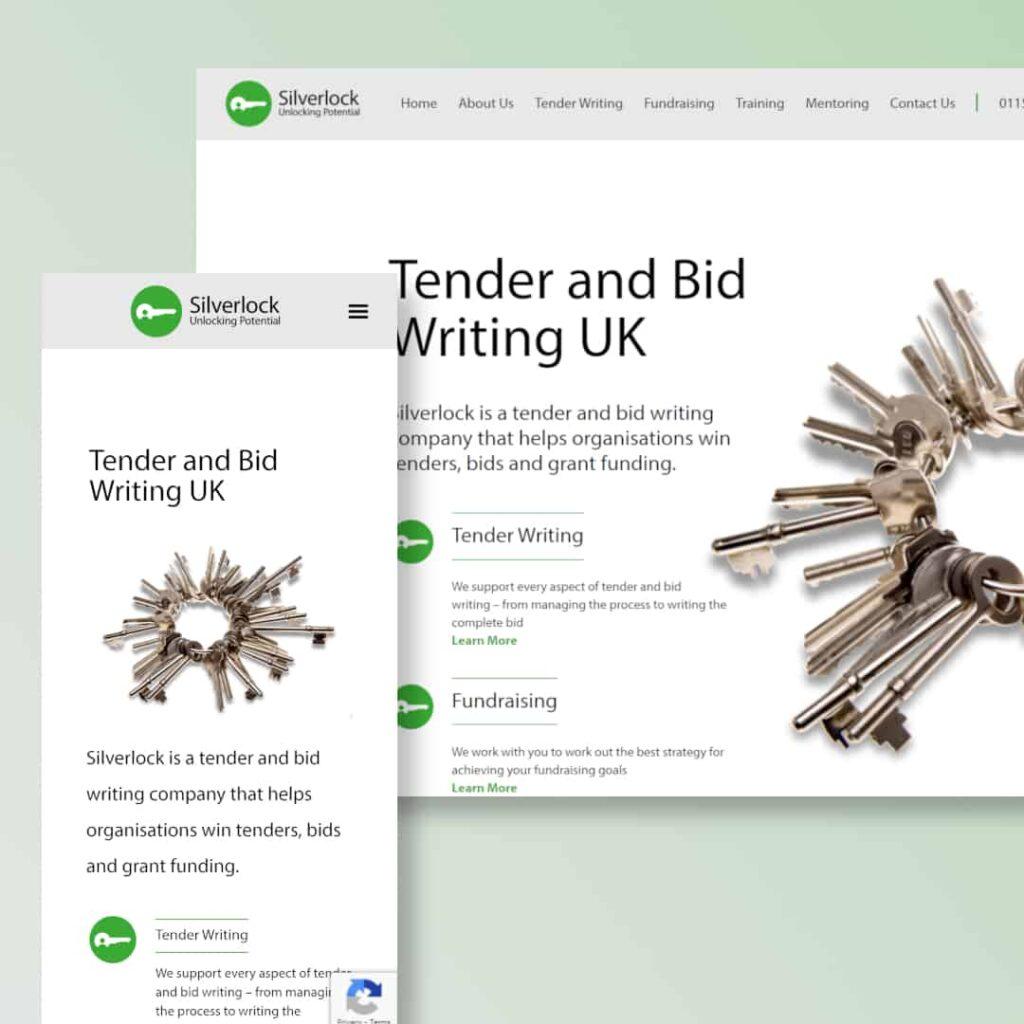 Silverlock Website Example